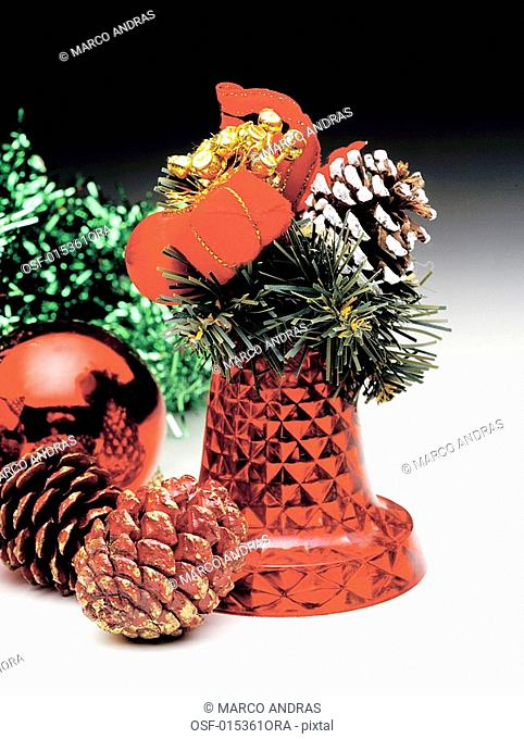 christmas decorative objects for the tree