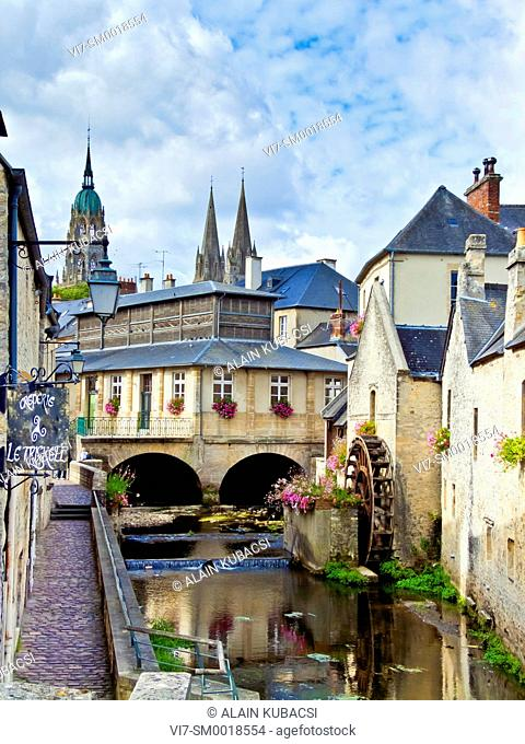 Notre-Dame Cathedral, Bayeux, Calvados, Normandie, France
