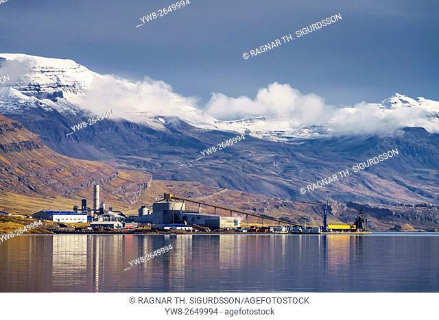 Alcoa Aluminum Factory, Reydarfjordur, Eastern Iceland