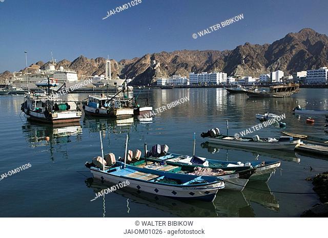 Oman, Muscat, Mutrah, Mutrah Port