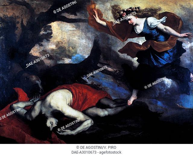 Venus discovering the dead body of Adonis, by Jose de Ribera, known as Spagnoletto (1591-1652), oil on canvas.  Rome, Galleria Nazionale D'Arte Antica Di...