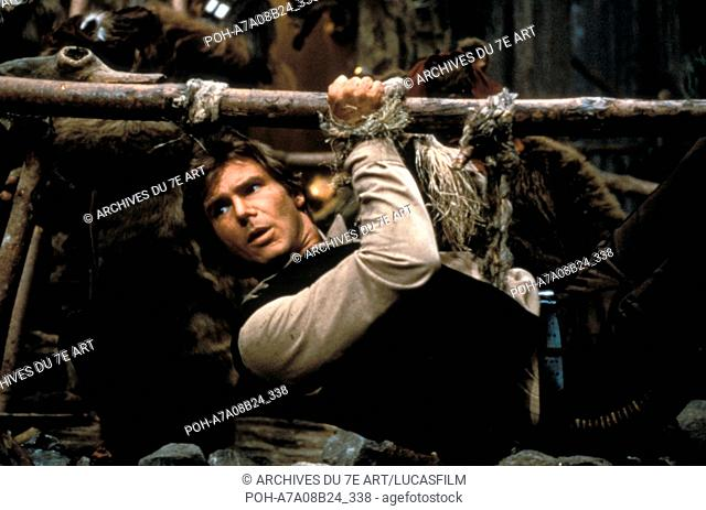 Star Wars: Episode VI, Return of the Jedi  Year : 1983 USA Harrison Ford  Director: Richard Marquand. It is forbidden to reproduce the photograph out of context...