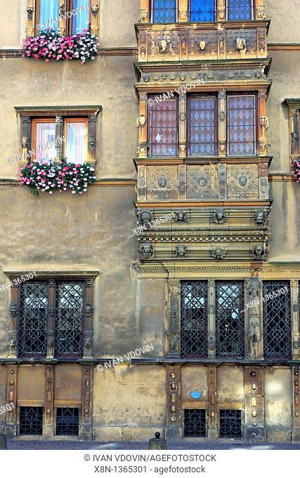 Maison des Têtes 1609, Colmar, Haut-Rhin department, Alsace, France
