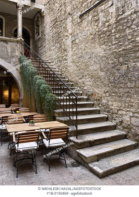 Staircase in Old town Split, Croatia