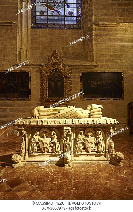 Archbishop Mendoza's Tomb, Seville Cathedral