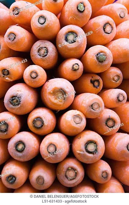 Carrots. Valencia, Comunidad Valenciana, Spain
