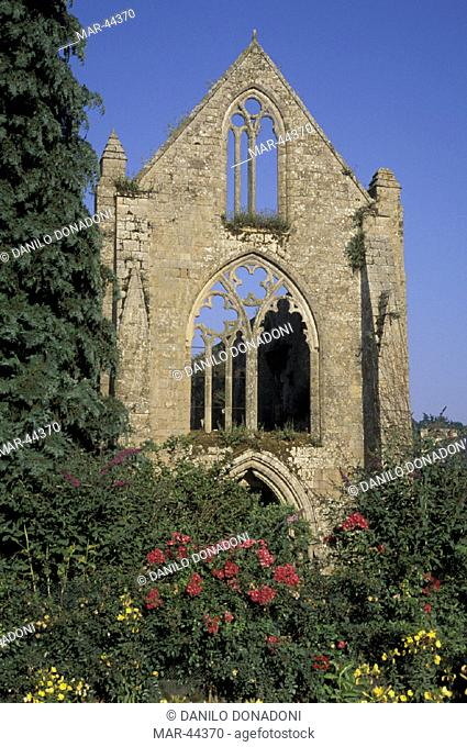 beauport abbey, paimpol, france