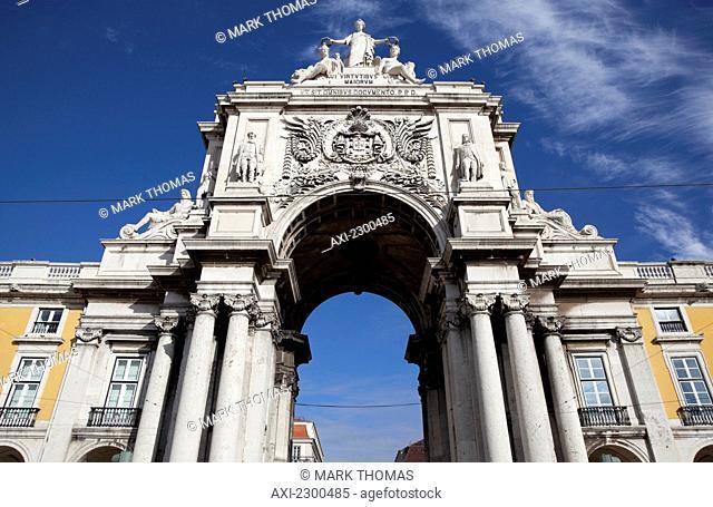 Arco de Rua Agusta; Lisbon, Portugal