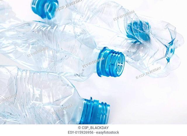 Used plastic bootles