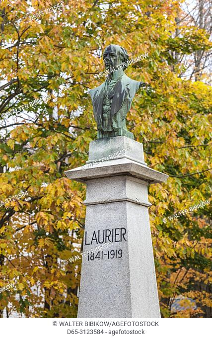 Canada, Quebec, Centre-du-Quebec Region, Victoriaville, Maison Sir Wilfrid Laurier, former home of Canadian Prime Minister, autumn