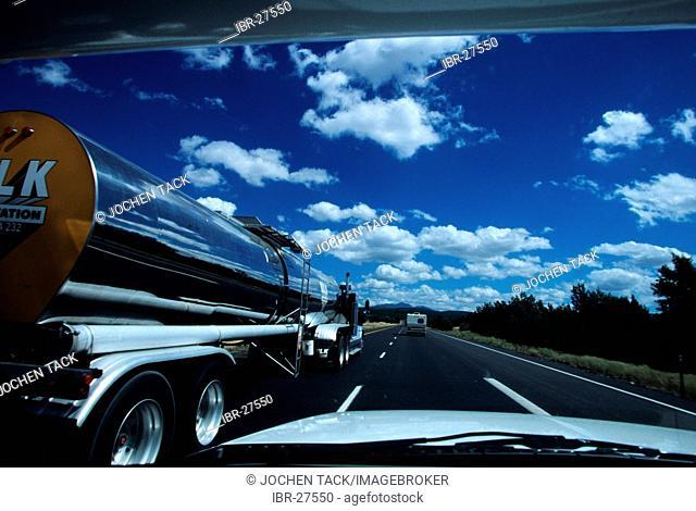 USA, United States of America, Arizona: Historic Route 66, between Kingman and Seligman