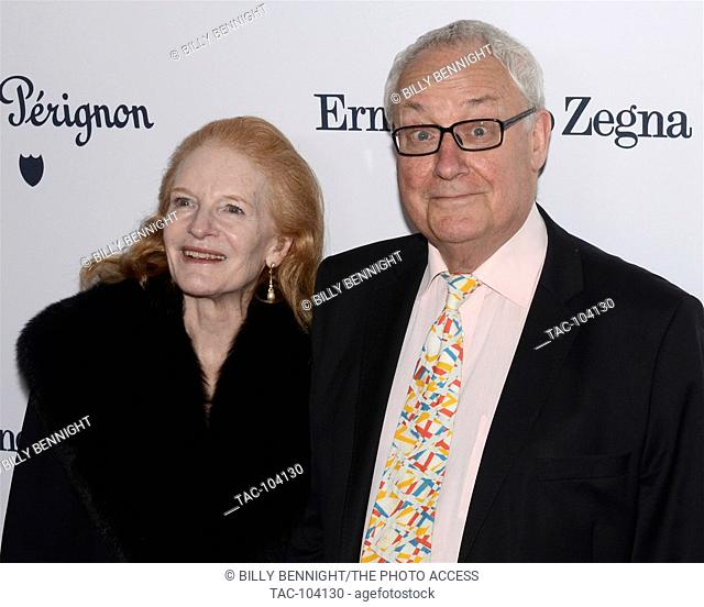 Carol Colburn Grigor and Murray Grigor arrives at the L.A. Dance Project's Annual Gala held at The Theatre at Ace Hotel on December 10, 2016 in Los Angeles