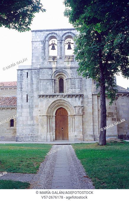 Facade of Estibaliz sanctuary. Vitoria, Alava province, Basque Country, Spain