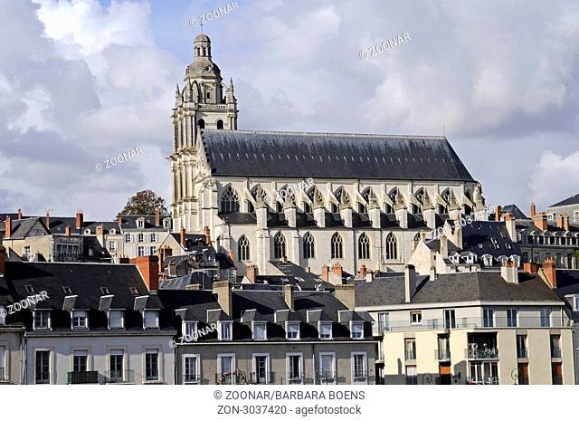 Cathedral Saint-Louis, Blois, Departement Loir-et-Cher, Centre, France, Europe, Kathedrale Saint-Louis, Blois, Departement Loir-et-Cher, Centre, Frankreich