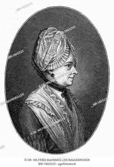 Sophie von la Roche (1730-1807), writer