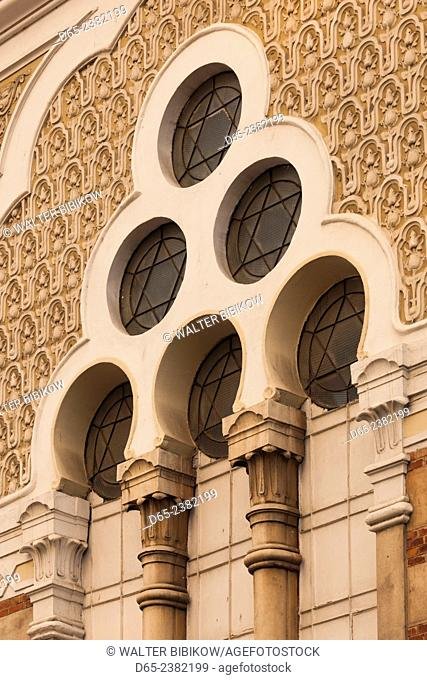 Bulgaria, Sofia, Sofia Synagogue, built 1909, second largest Sephardic Synagogue in Europe, exterior