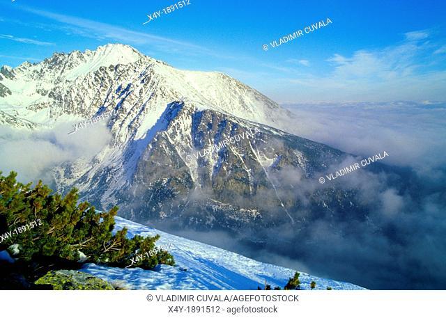 View of Zlomiskova dolina, High Tatras, Slovakia