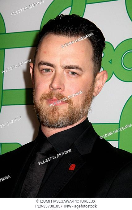 Colin Hunks 01/06/2019 The 76th Annual Golden Globe Awards HBO After Party held at the Circa 55 Restaurant at The Beverly Hilton in Beverly Hills
