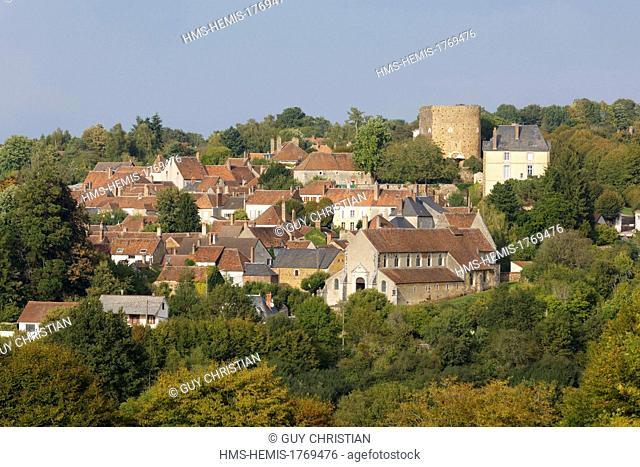 France, Yonne, Saint Sauveur en Puisaye, Colette birth