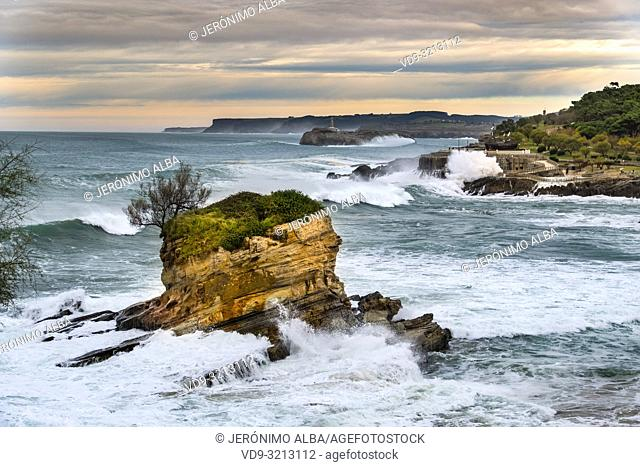 Playa del Camello. Santander, Cantabrian Sea, Cantabria, Northern Spain, Europe