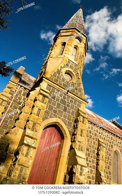 Bluestone church, Ballan, Victoria, Australia