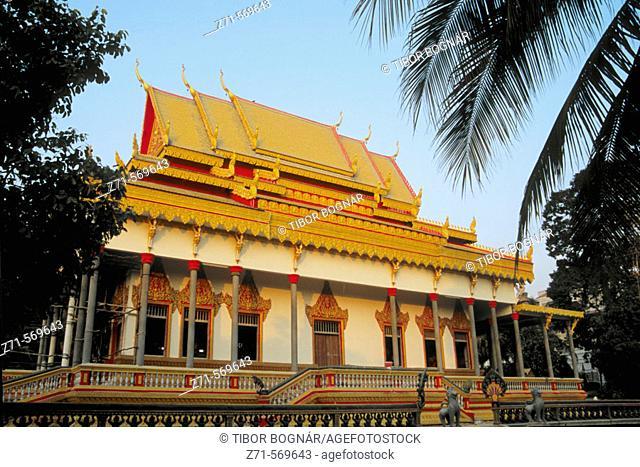 Cambodia, Siem Reap, new buddhist temple