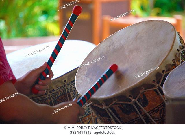 Polynesian drumming