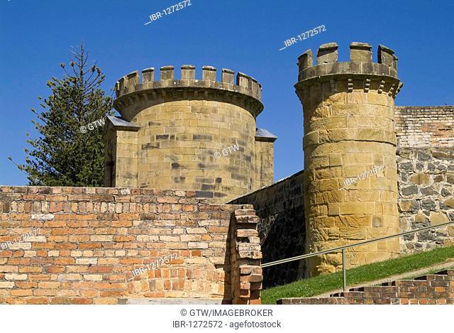 Port Arthur penal colony, guard tower, Tasmania, Australia