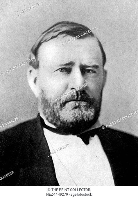 Ulysses S Grant, 18th President of the United States, (1933). Grant (1822-1885) was commander in chief of the Union army during the Civil War