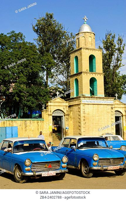 The Church of Medhane Alem, Feres Megala, Jugol (Old Town), Harar, town listed as World Heritage by UNESCO, Ethiopia, Africa