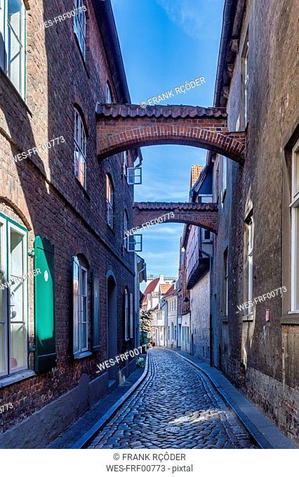 Germany, Schleswig-Holstein, Luebeck