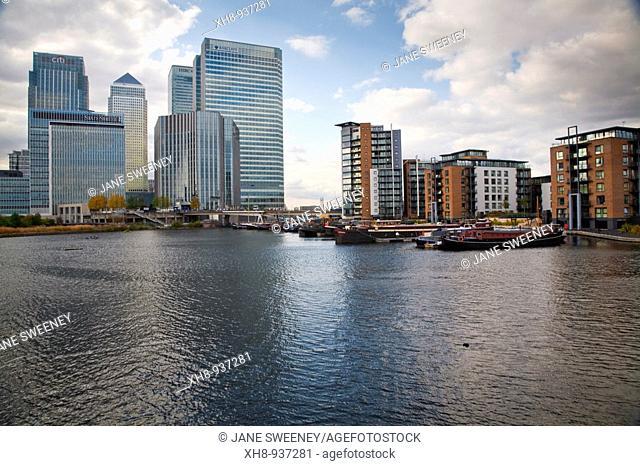 Canary Wharf, London, England, UK