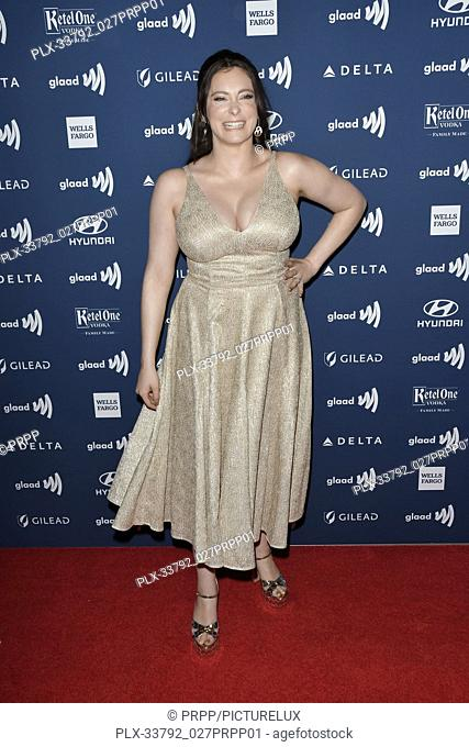 Rachel Bloom at the 30th Annual GLAAD Media Awards held at the Beverly Hilton Hotel in Beverly Hills, CA on Thursday, March 28, 2019