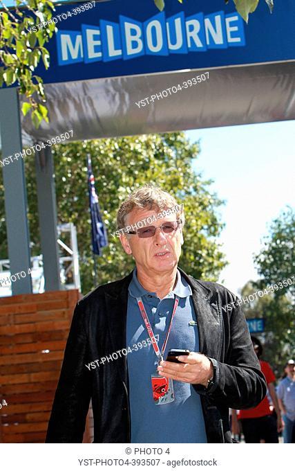 Herman Tilke, Formula 1 track designer, F1, Australian Grand Prix, Melbourne, Australia