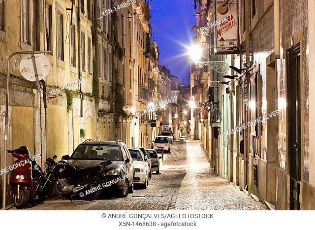 Bairro Alto, Lisbon, Portugal, Europe