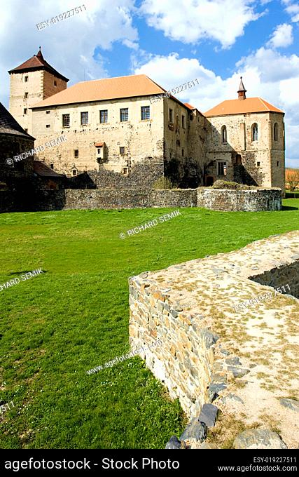 Water Castle Svihov, Czech Republic