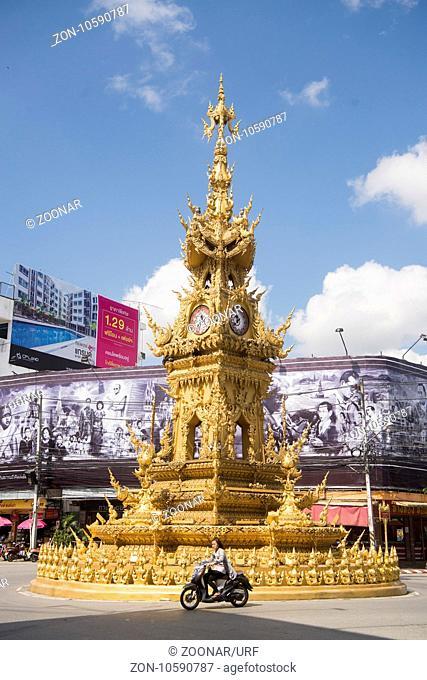 THAILAND CHIANG RAI CLOCK TTOWER