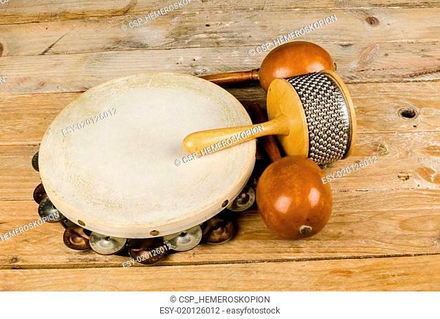 Small percussion instrument