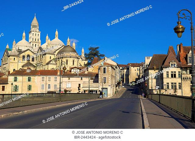 Perigueux, Saint Front Cathedral, World Heritage Site of the Routes of Santiago de Compostela in France, Perigord Blanc, Dordogne, Aquitaine, France, Europe