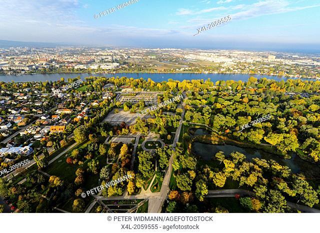 Vienna, skyline, Danube city, Austria, 22. District, Donaucity