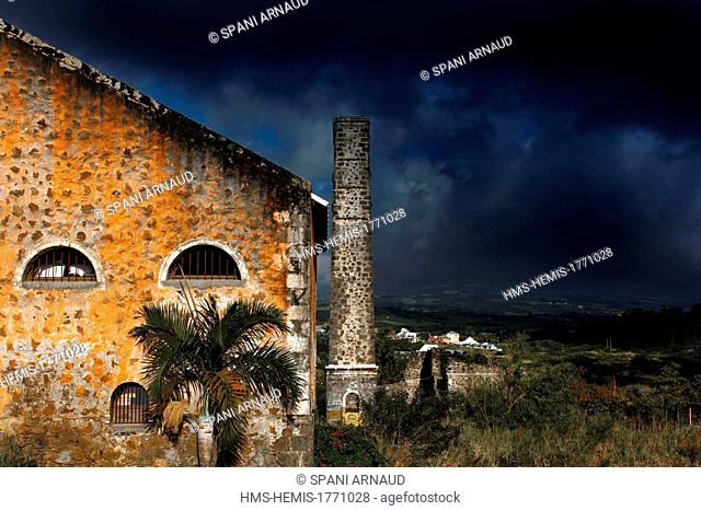 France, Reunion island (French overseas department), Saint Gilles, craft village of Eperon, old sugar cane farm