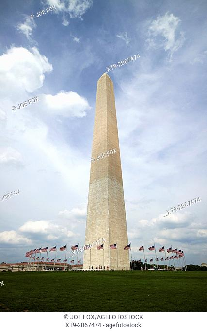 the washington monument Washington DC USA