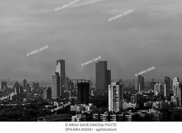 Skyline, Mumbai, Maharashtra, India, Asia