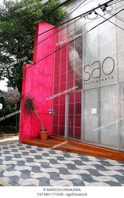 SAO Restaurant, São Paulo, Brazil