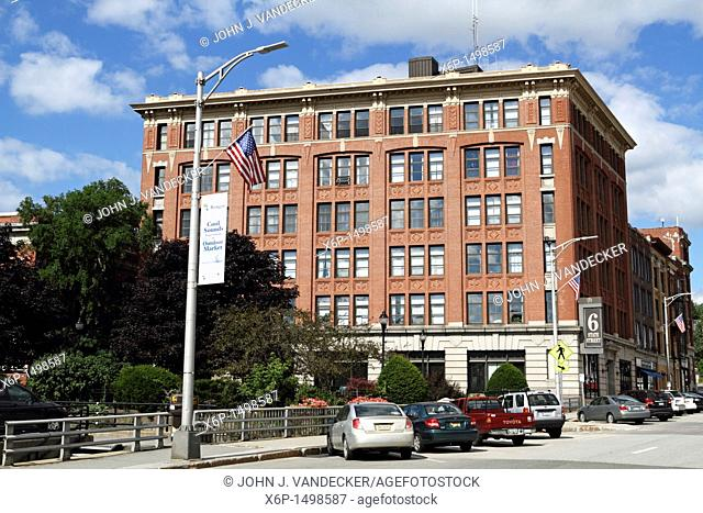 6 State Street, an office building in downtown Bangor, Maine, USA  Bangor is the 3rd largest city in the state and the retail