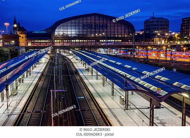 Hamburg Hauptbahnhof (Central Station), Hamburg, Germany