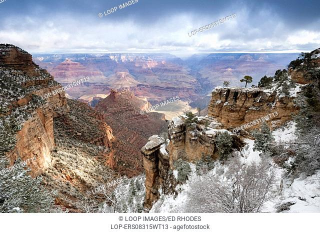 The South Rim in winter