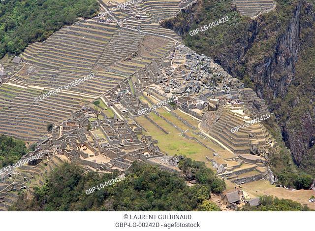 Machu Picchu, Worth Sacred of Los Incas, Region of Cusco, Lima, Peru