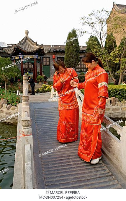 China, Shanxi province, Qiao Ja, Qiao residence