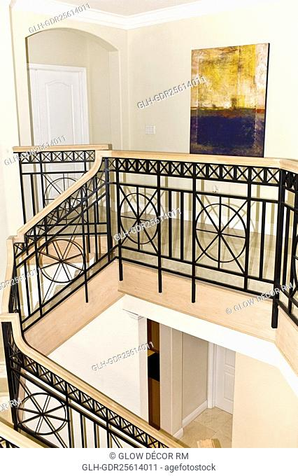 Railing in a house